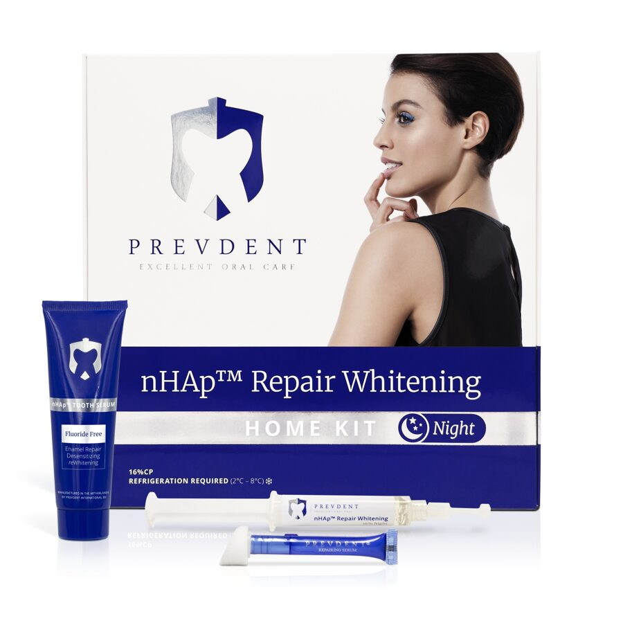 PrevDent teeth whitening home kit NIGHT